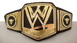 New WWE Championship Title Belt
