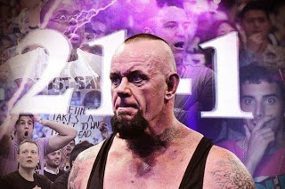 The Undertaker's Streak Ends