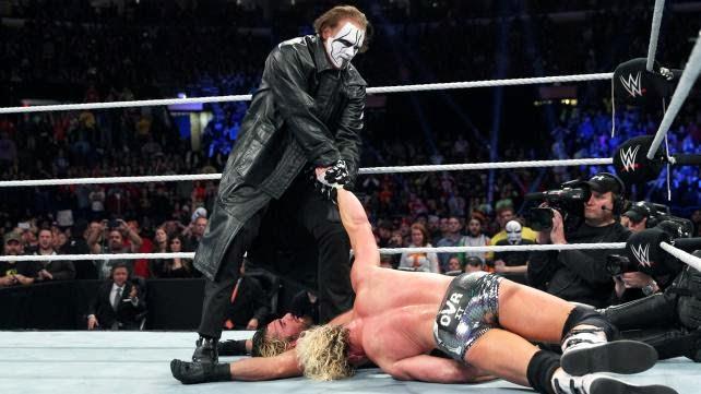 Sting debuts in WWE!