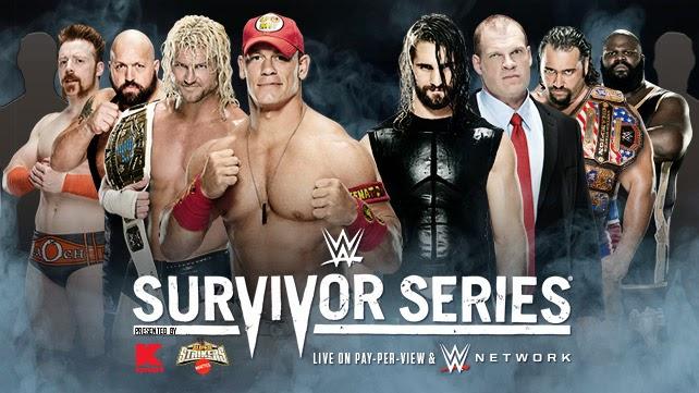 Team Cena vs. Team Authority
