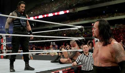 Roman Reigns Undertaker