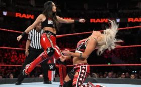 Brie Bella Kicks Liv Morgan