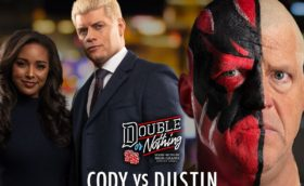 AEW Cody vs Dustin