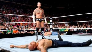 CM Punk vs The Rock