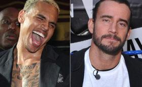 CM Punk Chris Brown Beef